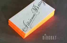 Business Cards Painting Colorful Edge Painting