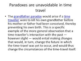 time travel u0026 paradox ppt download