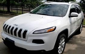 jeep cherokee white 2014 jeep cherokee latitude 32k bright white clear coat