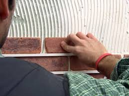 How To Build A Dividing Wall In A Room - how to install brick veneer on a wall how tos diy