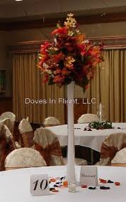 Feather Vase Centerpieces by Chair Covers Of Lansing Centerpieces And Florals