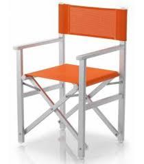 siege metteur en fauteuil pliant aluminium metteur en scène ramberti et toile