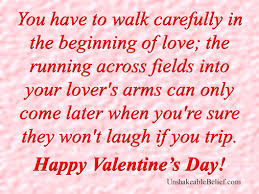 Valentines Day Love Quotes by Funny Quotes For Valentine U0027s Day Yourbirthdayquotes Com