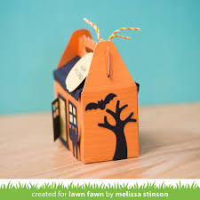 lawn fawn blog lawn fawn intro scalloped treat box haunted
