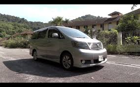 2004 toyota alphard 2 4 g start up full vehicle tour and quick