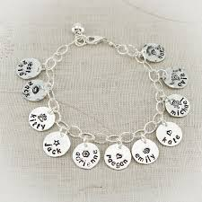 bracelet name images Charm bracelet with sterling silver jpg