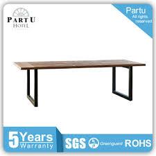 metal frame for table top partu metal frame wood table top tube table shisha wood dining