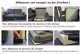 remplacer mousse canapé canapés déhoussables ou tapissiers home spirit canapé inn
