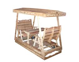 Wooden Glider Swing Plans by Decor Wooden Canopy Glider Swing For Amazing Backyard Decoration