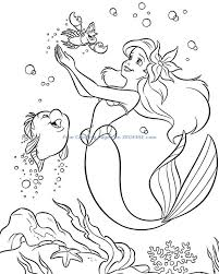 coloring pages ursula coloring pages free printable ariel ursula