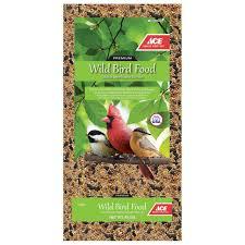 ace nuthatch wild bird food black oil sunflower seed 40 lb
