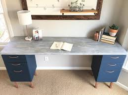 Desk With File Cabinet Home Office Makeover Part 5 The Diy File Cabinet Desk And