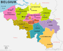 map of begium map og belgium major tourist attractions maps