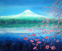 Feng Shui Painting Poster Feng Shui Spring On The Lake