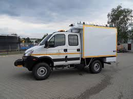 light class technical vehicle on iveco daily 55s17w
