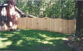 wood fence backyard fence ideas
