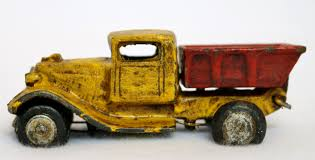 Cast Iron Home Decor Cast Iron Toy Dump Truck Vintage Style Home Kids Bedroom Office