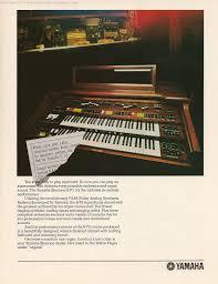 retro synth ads yamaha e 70 ad 3 contemporary keyboard 1981