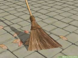 Patio Cleaning Tips 3 Ways To Clean A Patio Wikihow