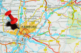 map of germany in europe uk 13 june 2012 hamburg germany marked with