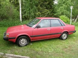 subaru leone coupe subaru leone 1 6 dl 4d sedan 1988 used vehicle nettiauto