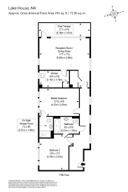floor plan area calculator 2 bedroom property for sale in lake house 2 green lanes walk