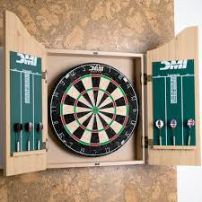 White Dartboard Cabinet Escalade Sports Cabsetpl Deluxe Dartboard Cabinet Set