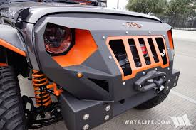 sema jeep for sale 2016 sema fab four granite orange jeep jk wrangler unlimited
