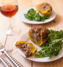 meilleures recettes de cuisine courges delicata farcies au quinoa et lardons les meilleures
