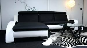 canapé design blanc canape noir et blanc design canapac noir et blanc design 17 canape