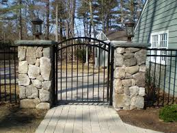 Home Gate Design Catalog Beautiful Fence And Gate To Keep The Dogs Safe In The Yard Home