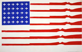 Us Flag Decal America In Revolt The Art Of Protest Art Matter