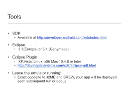 developer android sdk index html android a brief intro