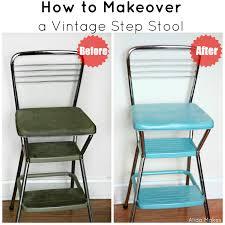 cosco retro chair with step stool hg home design doxjo