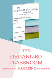 new the organized classroom magazine