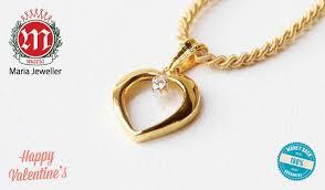 gold earrings price in pakistan diamond heart locket