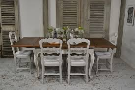 french shabby chic extending dining set tables the treasure