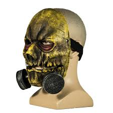scary scarecrow halloween costume scarecrow mask batman arkham knight pvc half face mask with