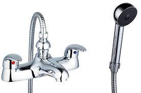 euro style 2 quarter turn levers chrome bathroom bath shower mixer