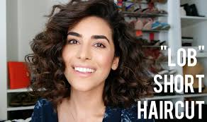 haircuts for natural curly hair my short lob haircut tips for styling youtube