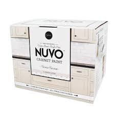 shop nuvo diy series cream satin water based interior paint and