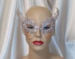 rhinestone mardi gras mask mardi gras mask etsy