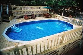 Deep Backyard Pool by Doughboy Pools Photo Gallery