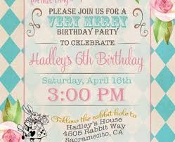 birthday invitation party cards gallery invitation design ideas