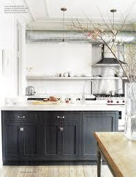 resplendent small kitchens design with handmade open shelving for