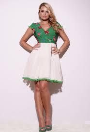 rochie etno rochie fashionqueen etno effect green fashionqueen ro