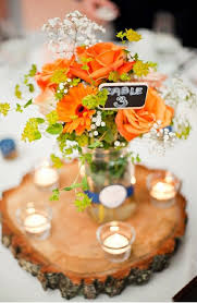 Country Centerpieces Rustic Receptions Picmia
