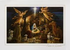 shop cards featuring nativity