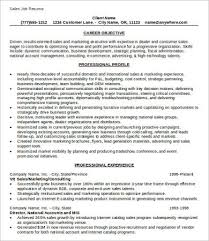 Example Of A Marketing Resume Example Of Job Resume Classic 2 0 Blue Free Resume Samples