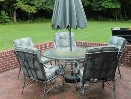 fantastic small patio table with umbrella hole 25 best ideas about